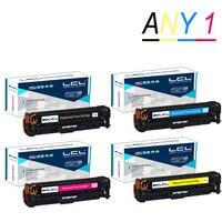 LCL 305A CE410A CE411A CE412A CE413A 1 Pack Toner Cartridge Compatible For HP Laserjet Enterprise 300