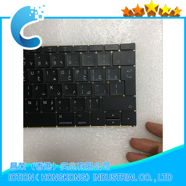 Original NEW A1534 Keyboard Arabic 2016 Years for MacBook Retina 12 A1534 Arabic AR Keyboard MLHA2 MLHC2 EMC2991 ...