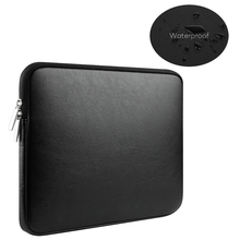 PU Leather 13.3 15 touch bar Waterproof pouch sleeve bag for Funda Macbook Air 13 Pro Retina 11 12 14 inch notebooks laptop case