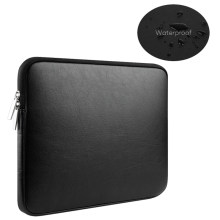 PU Leather 13.3 15 touch bar Waterproof pouch sleeve bag for Funda Macbook Air 13 Pro Retina 11 12 14 inch notebooks laptop case(China)