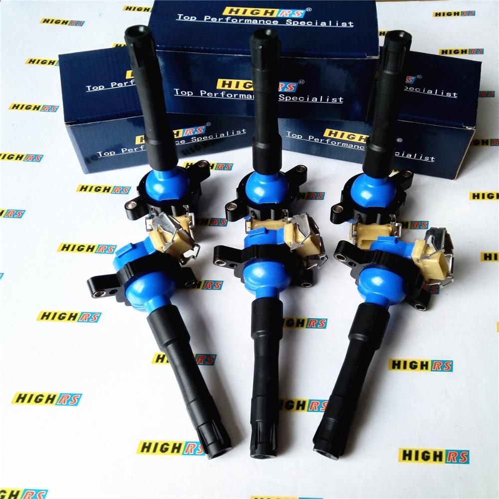 8 Ignition Coils for BMW E46 E39 X5 Z8 E36 325 330 328 525i 540i M3 12131748018