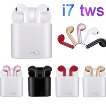 RGLM i7s TWS mini Coloured drawing Bluetooth Wireless Earphones Earbuds With Cha
