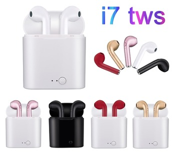 RGLM i7s mini Bluetooth Earphone Stereo Earbud Bluetooth Headset with Charging Pod Wireless Headsets for All Smart Phone