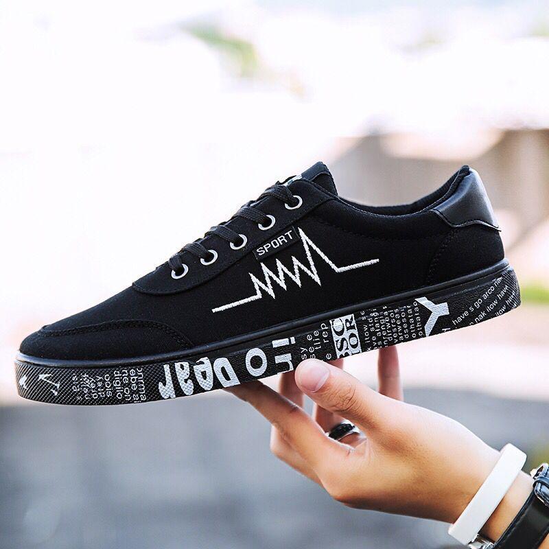 5f550d691c7 Low Top Canvas Shoes Men Sneakers Summer Fashion Men Shoes