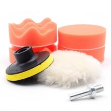 Araba Parlatma Yıkama Fırça Seti Sünger Ağda Yıkama Bakım Kozmetik Parlatıcı Pedleri Kiti Keçe Bileşik Malzemeleri Oto Aksesuarları