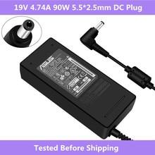 ASUS 19V 4.74A 5,5*2,5 мм AC ноутбук адаптер питания зарядное устройство для Asus ADP-90SB BB PA-1900-24 PA-1900-04 зарядное устройство