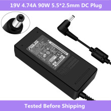 ASUS 19V 4.74A 5.5*2.5mm AC Laptop Power Adapter Travel Charger voor Asus ADP 90SB BB PA 1900 24 PA 1900 04 voeding Lader