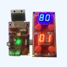 NY D04 100A Digital Display Spot Welding Machine Transformer Controller Control Panel Board Adjust Time Current