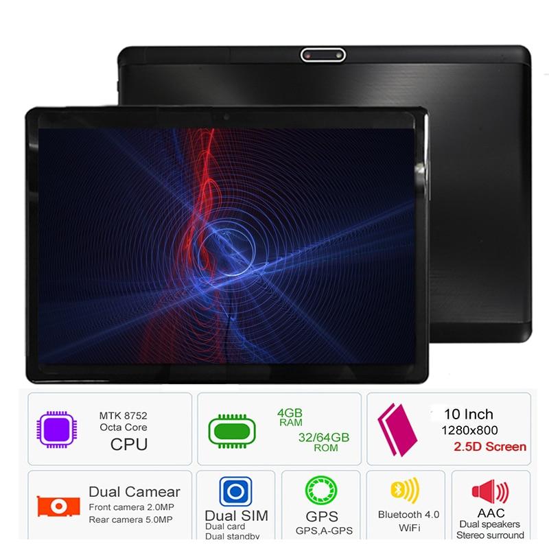 Livraison Gratuite S119 10.1 «Comprimés Android 8.0 Octa Core 32 gb 64 gb ROM Double Caméra 8MP Double SIM tablet PC Wifi GPS bluetooth téléphone