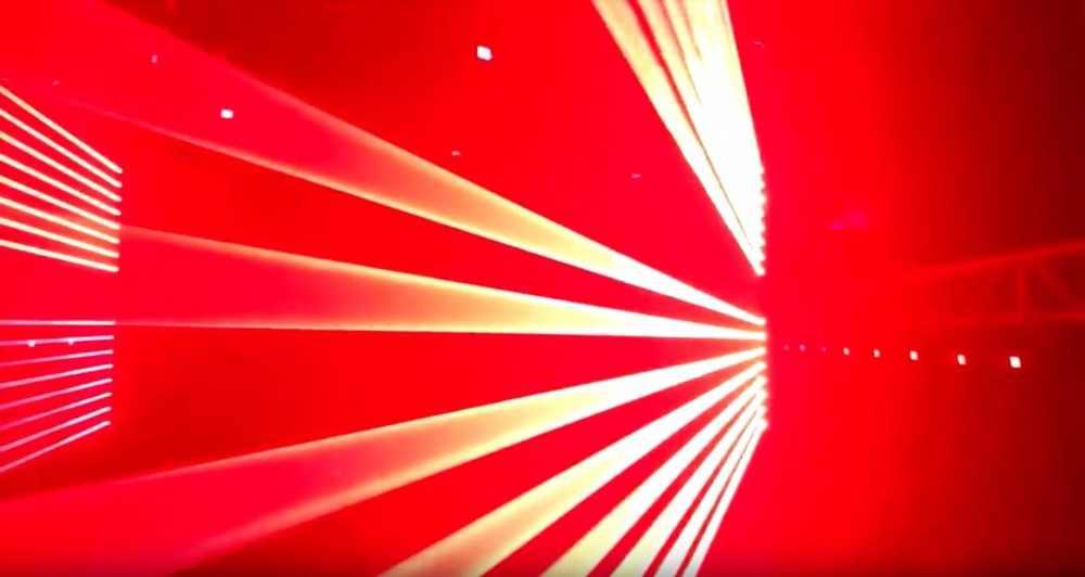 8 Eyes laser lights R,G,RGB beam dmx moving head laser