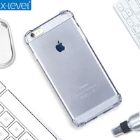 X Level Soft TPU Crashproof Case For IPhone 6 High Quality Luxury Back Cover For IPhone