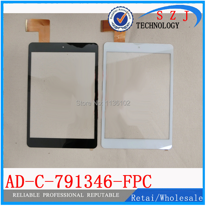 Original 7.85 inch Tablet AD-C-791346-FPC Capacitive touch screen panel Digitizer Glass Sensor replacement Free shipping black capacitive touch screen digitizer glass 9 7 inch tablet touch panel replacement ad c 971242 fpc free shipping