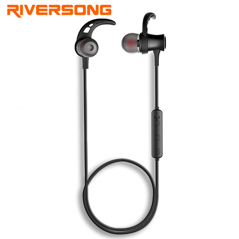 RIVERSONG Sport Mini Stereo Bluetooth Earphone V4.1 Wireless Crack Headphone Earbud Super Bass HIFI Universal for Samsung XIAOMI sport mini stereo bluetooth earphone v4 0 wireless crack headphone earbuds hand free headset universal for samsung iphone7 sony