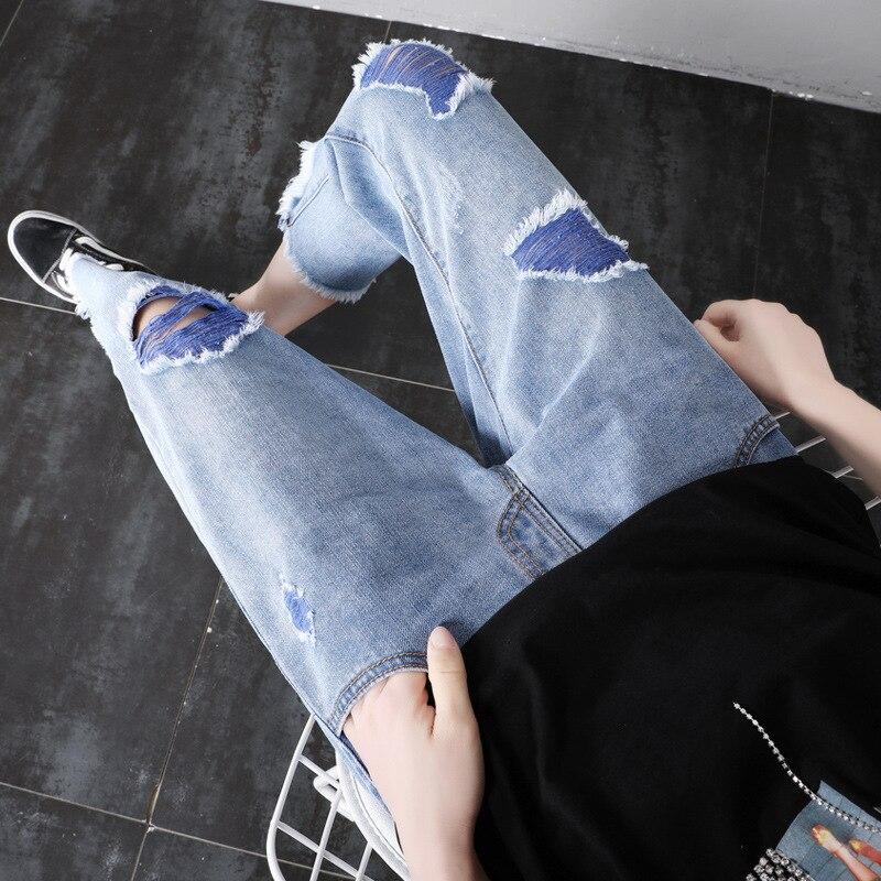 verao finas calcas de algodao mulheres gravidas 01