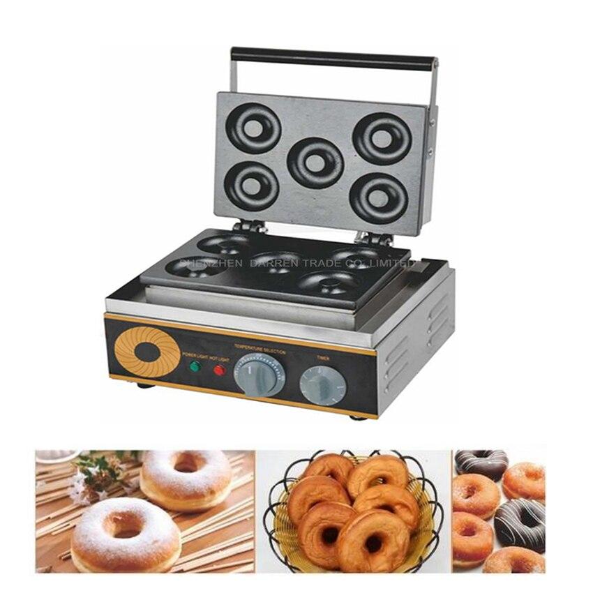 1 шт. пончики вафельница FYX 5A 1500 Вт антипригарный Электрический Пончик чайник Железная машина пончик машина Горячая