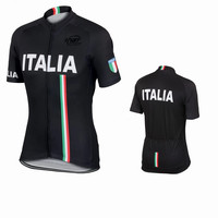 Italia Styles Summer Cycling Jerseys Breathable Material Quack Dry Racing Clothing Italy Design