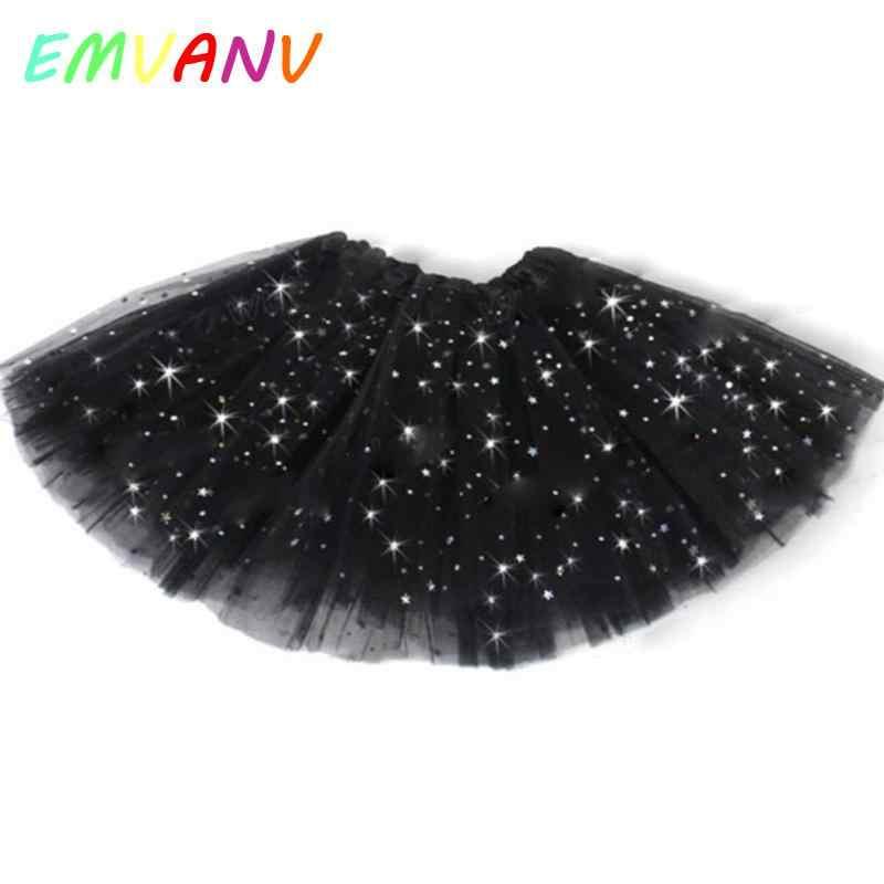 2018 милое Тюлевое платье-пачка ярких цветов с блестками для маленьких девочек, платье принцессы на день рождения для маленьких девочек, балетное платье, танцевальный костюм