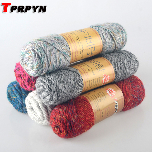 TPRPYN 300g = 3 Stücke Alpaka Material Mohair Wolle Stricken Garn ...