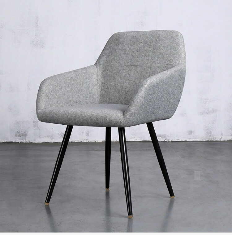 Cafe Chairs Cafe Furniture Solid Wood +cotton Fabric Wadding Coffee Chairs Minimalist Modern Wholesale Hot New 50*47*86cm