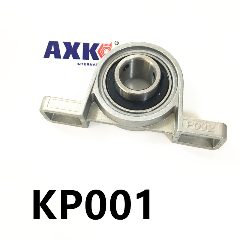 Free shipping 2pcs UP001 pillow block ball bearing 12mm Zinc Alloy Miniature Bearings with sleeve free shipping 2pcs ufl000 pillow block ball bearing 10mm zinc alloy miniature bearings with sleeve