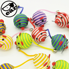 5pcs/lot Cats Bell Mouse Cat Toy