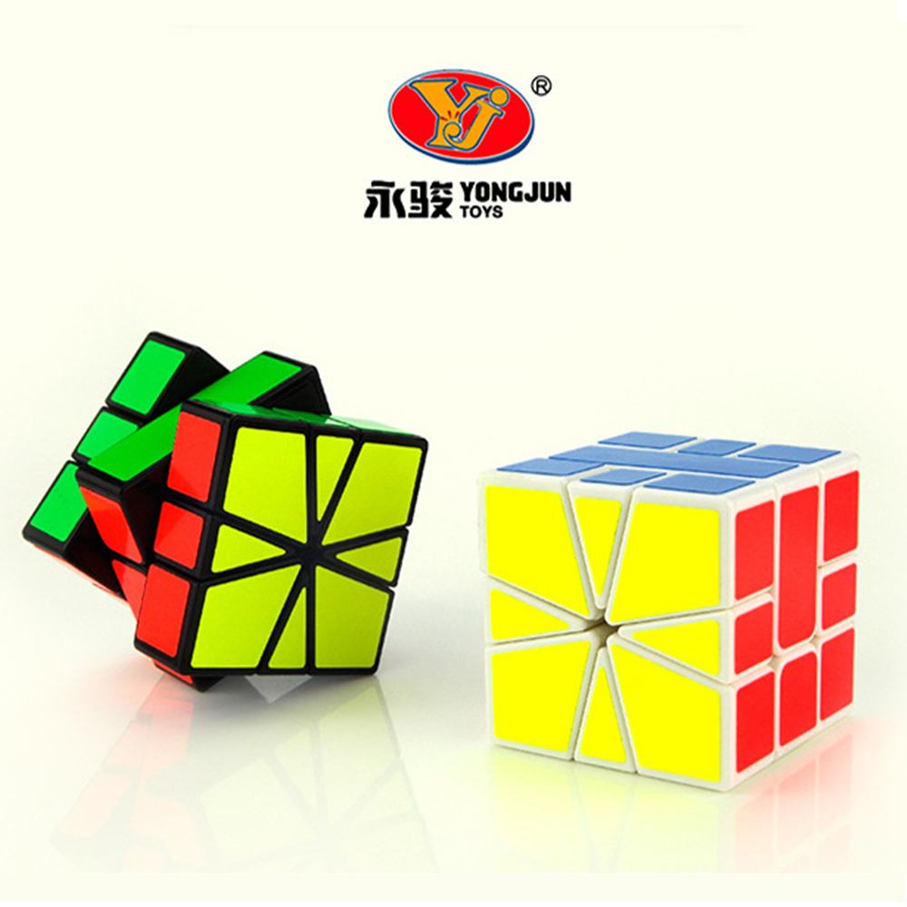 Newest YJ Guanlong SQ-1 Magic Cube Puzzle Square 1 Speed Cube SQ1 Mofangge Twisty Learning Educational Kids Toys Game square 1 sq1 3x3x3 speed magic cube puzzle cubes toys for kids