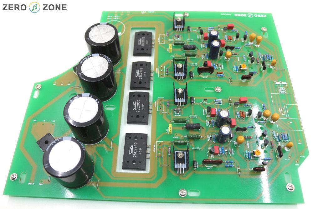 75 W + 75 W fini boîte noire Clone Naim NAP200 amplificateur conseil bricolage amplificateur de puissance