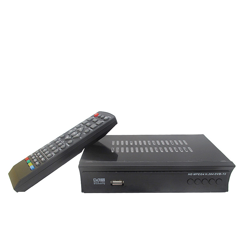 DVB-T2 High Definition HD Digital Video Broadcasting Terrestrial Receiver Compatible with MPEG-2/MPEG-4 H.264 TV Set Top Box