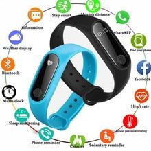 цена Sport Smart Bracelet Men 2019 New Fitness Tracker Electronics Smartband For Android IOS Smart Watch Wristband PK Mi band 2 3 онлайн в 2017 году