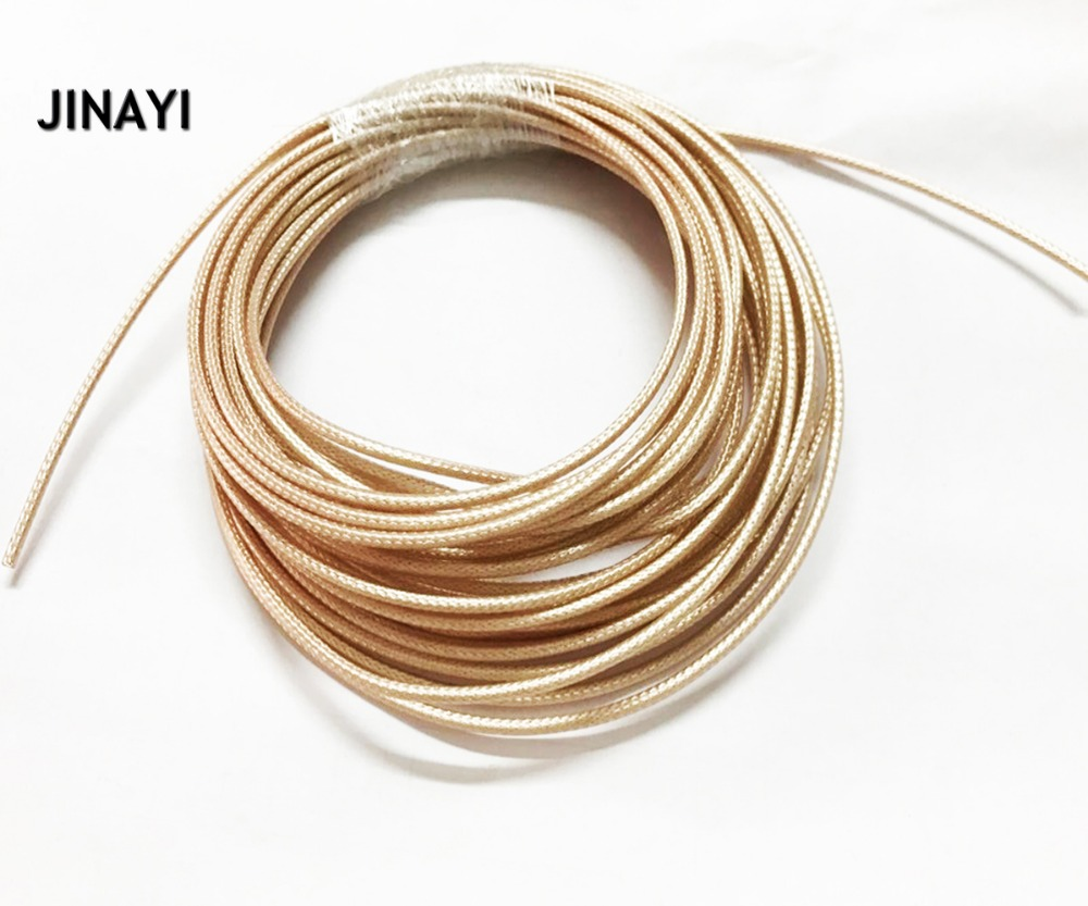 50M RF Coaxial cable RG178 Adapter Connector Coax cable 50ohm