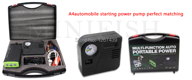 Newest 2015 Hot Products Car Engine Emergency Starting With Air Pump