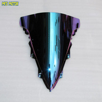 Motorcycle Accessories Magic color Windshield/Windscreen Light iridium For Yamaha R1 2009 2012 10 11