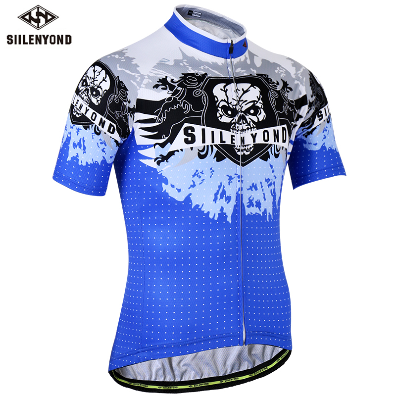 2019 SIILENYOND Pro Cycling Jersey Summer Mountain Bicycle Clothes  Maillot Ciclismo Racing Bicycle Clothes(China)