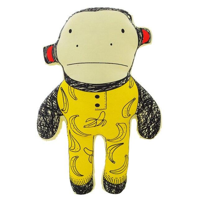Yellow Monkey Banana Children Kids Room Decoration Baby Toy Plush Doll Plush Toy Boy  Baby Gift Collection
