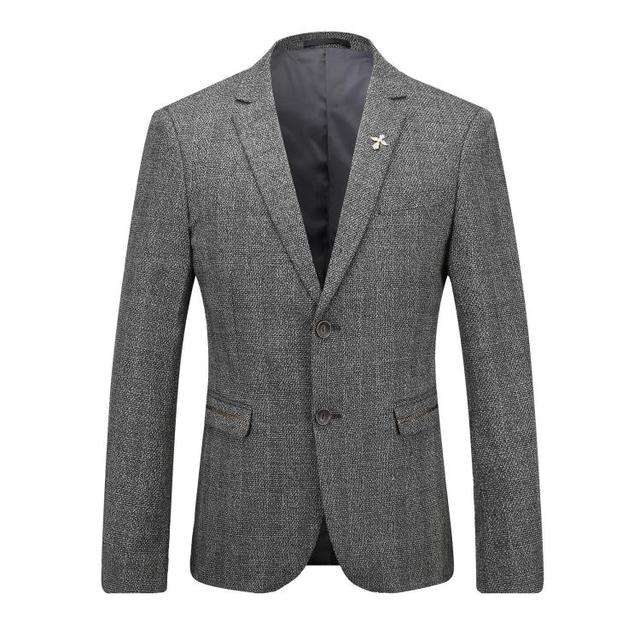 Europe and the United States men's new winter 2016 Suits brought two grain of cultivate one's morality suit gray coat