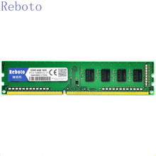 Reboto DDR3  4GB 1333MHZ  1600mhz  desktop PC3-10600 RAM Memory compatible with all motherboard