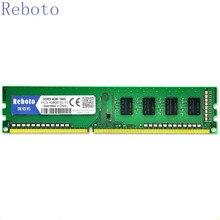 Reboto DDR3 4 ГБ 1333 мГц 1600U Desktop PC3-10600U Оперативная память памяти Совместимость со всеми плате