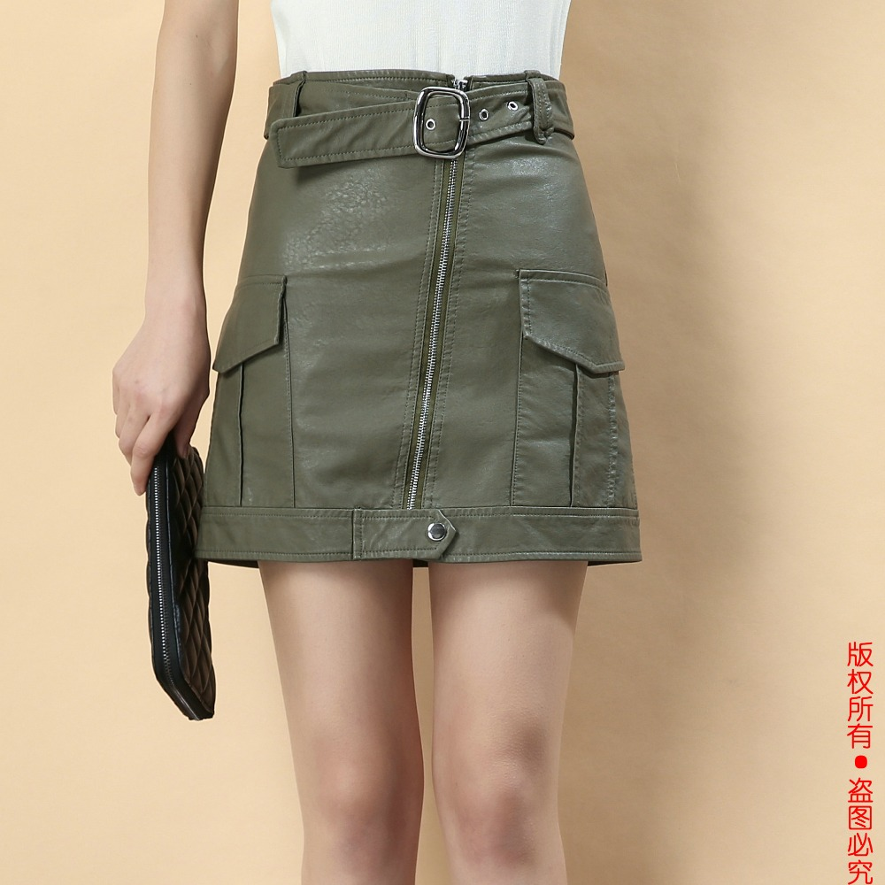 Leather Skirt for Women Promotion-Shop for Promotional Leather ...