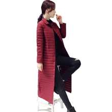 Winter Woman Maxi White Duck Down Coat Wine Red Blue Black Gray Long Puffer Jackets Women Basic Down Feather Parka Lady Overcoat