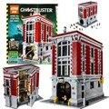 4695 Pcs 2016 Novo LEPIN 16001 Ghostbusters Firehouse Sede Modelo Kits de Construção do Modelo figura set Compatível Com 75827