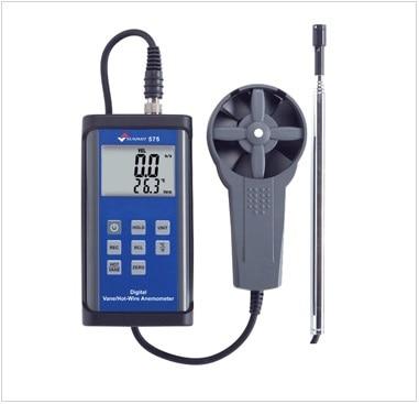 SUMMIT-575 runner wire type wind speed meter, dual-use sensor speed meter, wind meter petzl summit 66cm