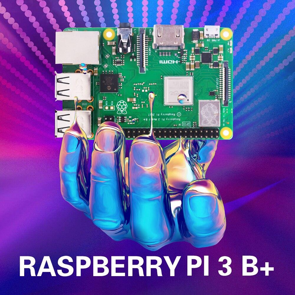 W magazynie! Oryginalny raspberry pi 3 model b plus Wifi Bluetooth i Port USB Raspberry Pi3 B Plus