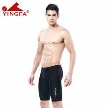 Yingfa FINA goedgekeurd Jongens zwemmen slips sharkskin badmode natacion Mens pak Concurrerende Badpak racing badpakken professionele