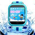 Niños Niños Reloj Inteligente A Prueba de agua GPS Phonecall WiFi AGPS Rastreador Smartwatch Red de Posicionamiento De Alta Calidad Profesional