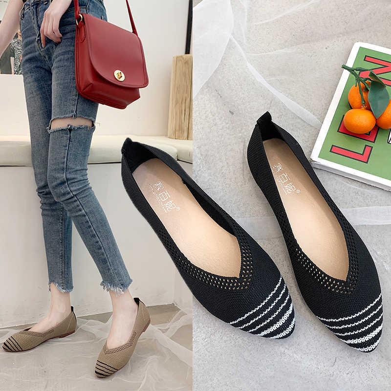 Spring Women Flats Shoes Leopard Print