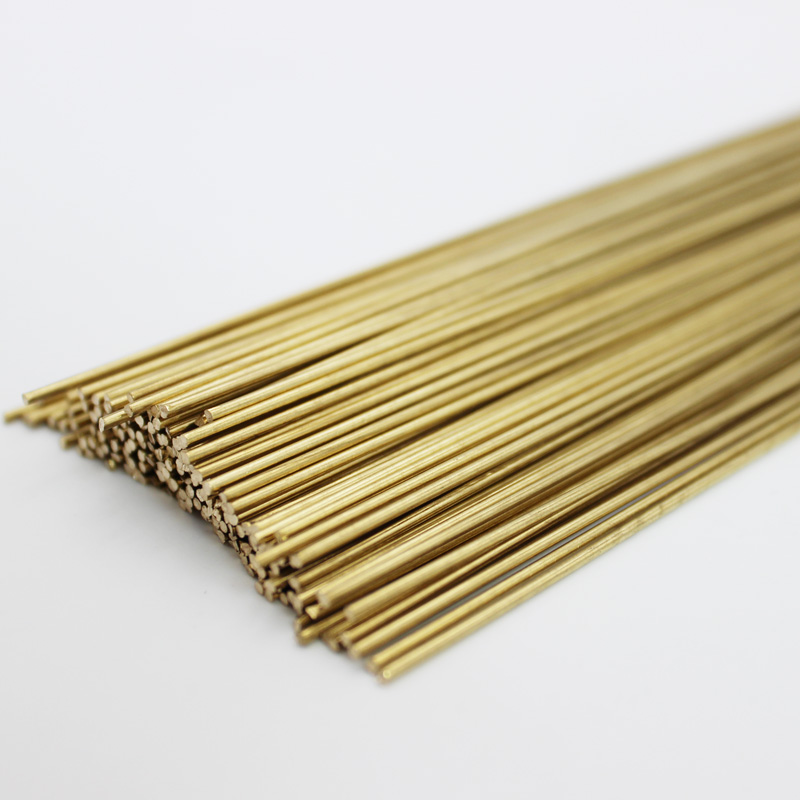 10pcs 0.8mm/1.0mm/1.6mm/2.0mm/2.5mm/3.0mm/4.0mm/5.0mm/6.0mm Brass Brazing Welding Wire Rods