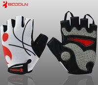 Boodun Men S Women S Breathable Mesh Cycling Gloves Non Slip GEL Pads Mittens Summer Sports