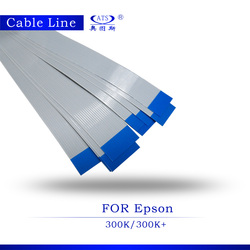10 sztuk nowy zamienne do drukarek części wysokiej jakości skaner linii do projektora Epson 300 K maszyna kabel głowicy drukarki 300 K 300 K +