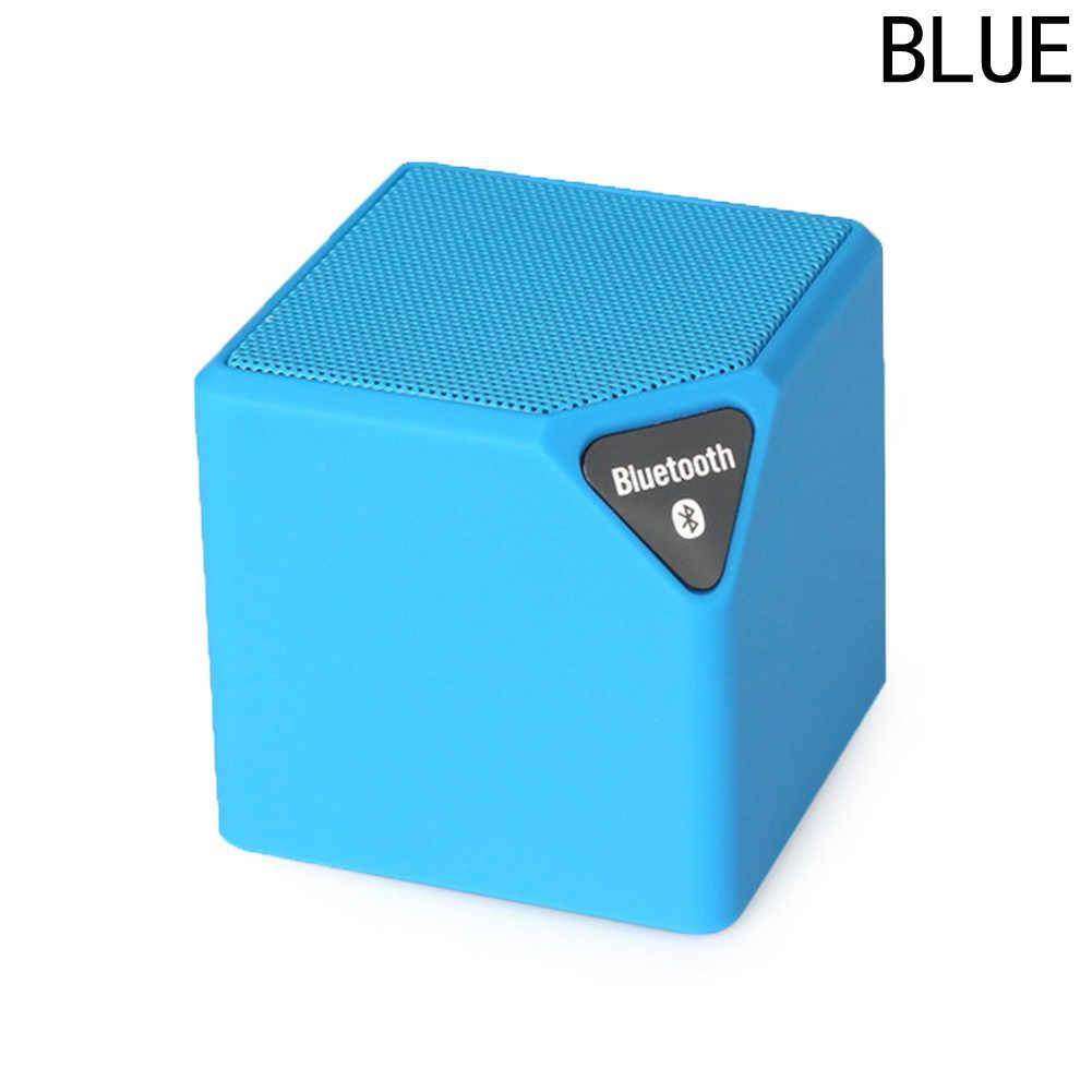 Mini Bluetooth Динамик X3 модные Стиль TF USB Беспроводной Портативный Музыка Sound Box сабвуфер громкий Динамик s с микрофоном