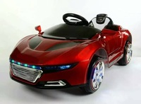 2017 New children electric car four wheel electric double drive swing children's electric car remote control toy car